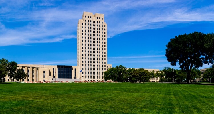 An image of a tall building in North Dakota